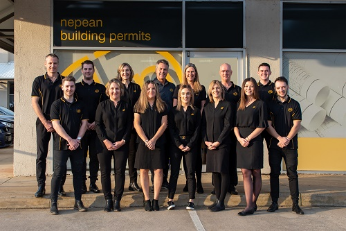 Nepean Building Permits group photo